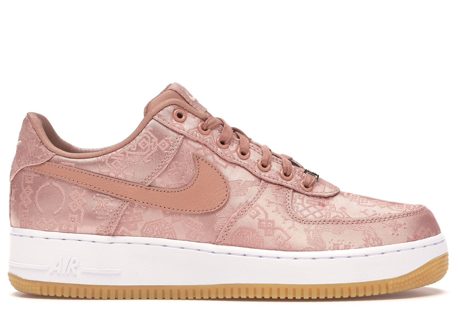 Nike Air Force 1 Low Clot Rose Gold Silk (Regular Box)