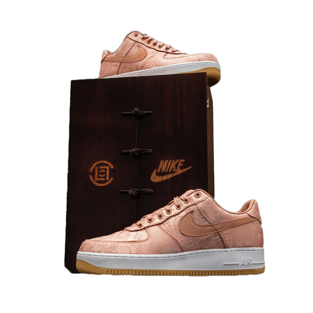 Nike Air Force 1 Low Clot Rose Gold Silk (Special Box)