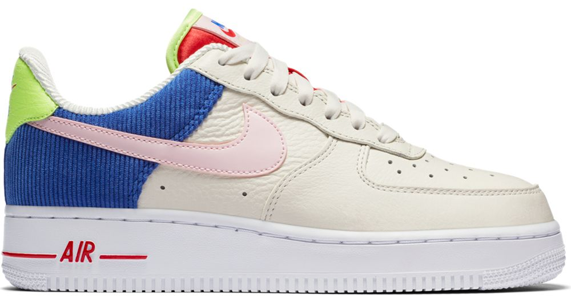 Air Force 1 Low Corduroy (w) In Sailarctic Pink racer Blue