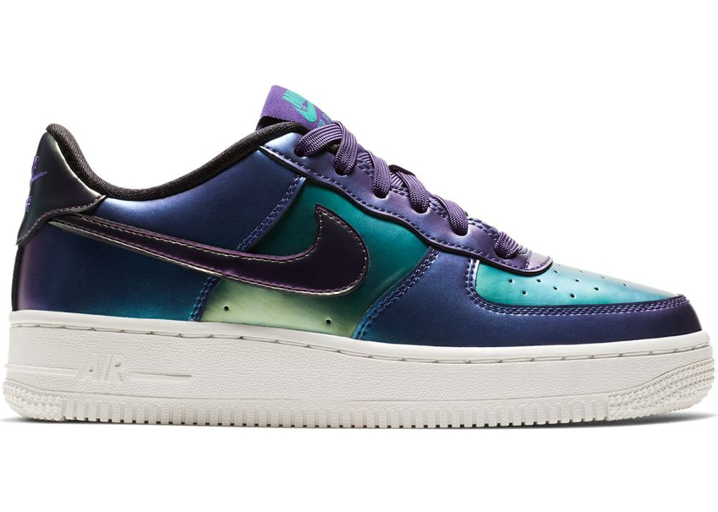 size 40 a9ddb 3cf67 Air Force 1 Low Court Purple Neptune Green (GS)