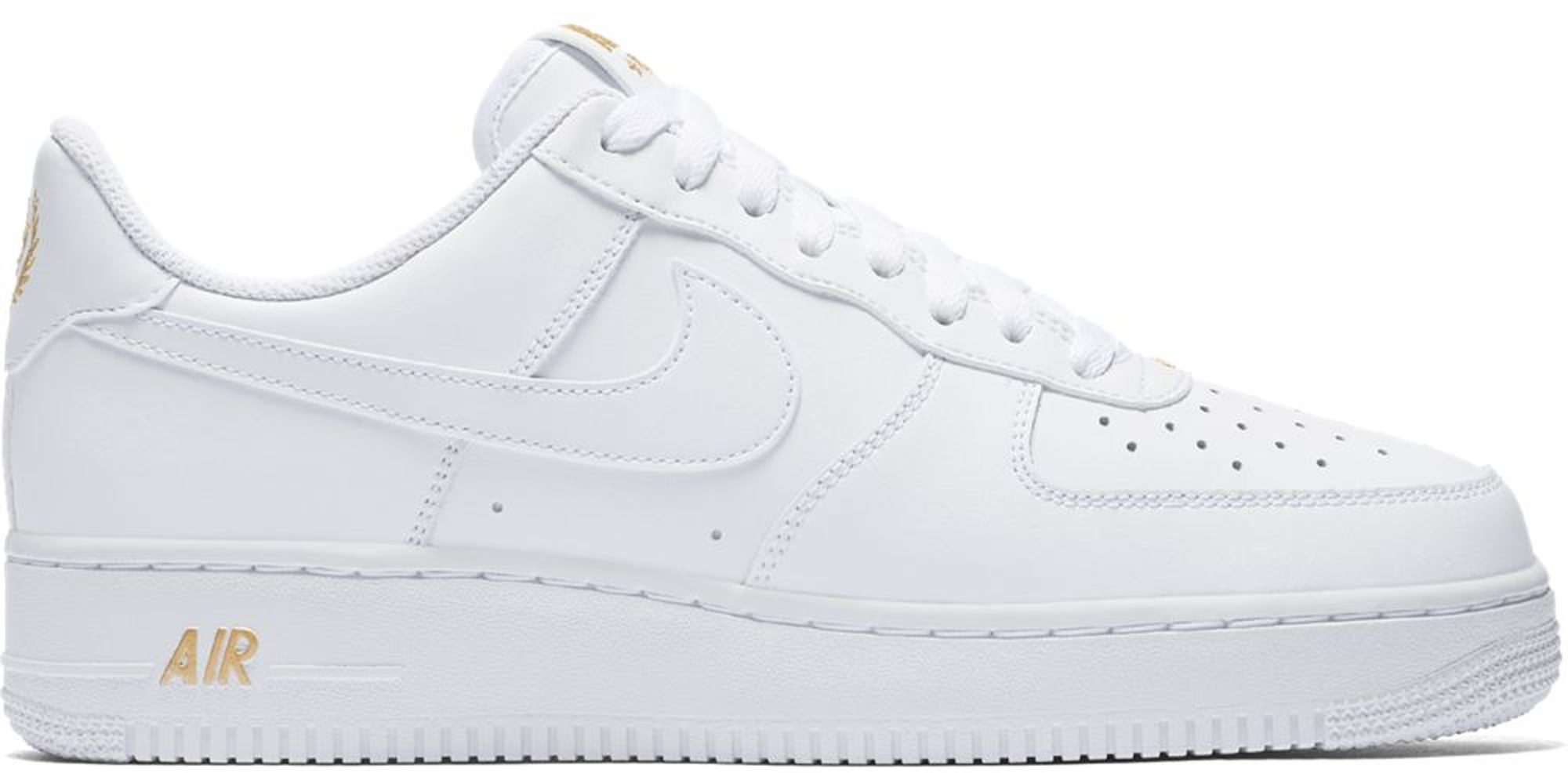 Nike Air Force 1 Low Crest Logo White