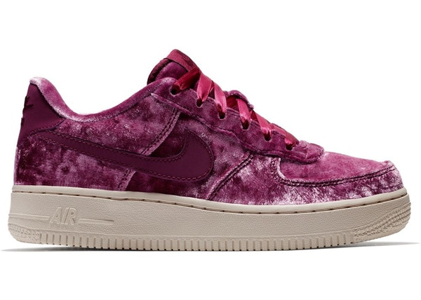 new style 93e10 b69a5 Air Force 1 Low Crushed Velvet (GS)
