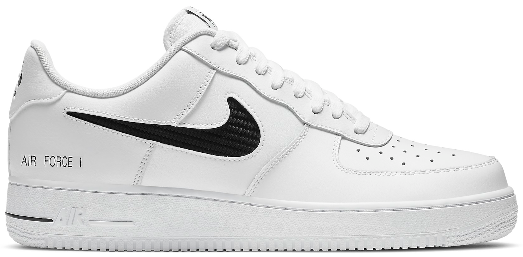Nike Air Force 1 Low Cut Out Swoosh