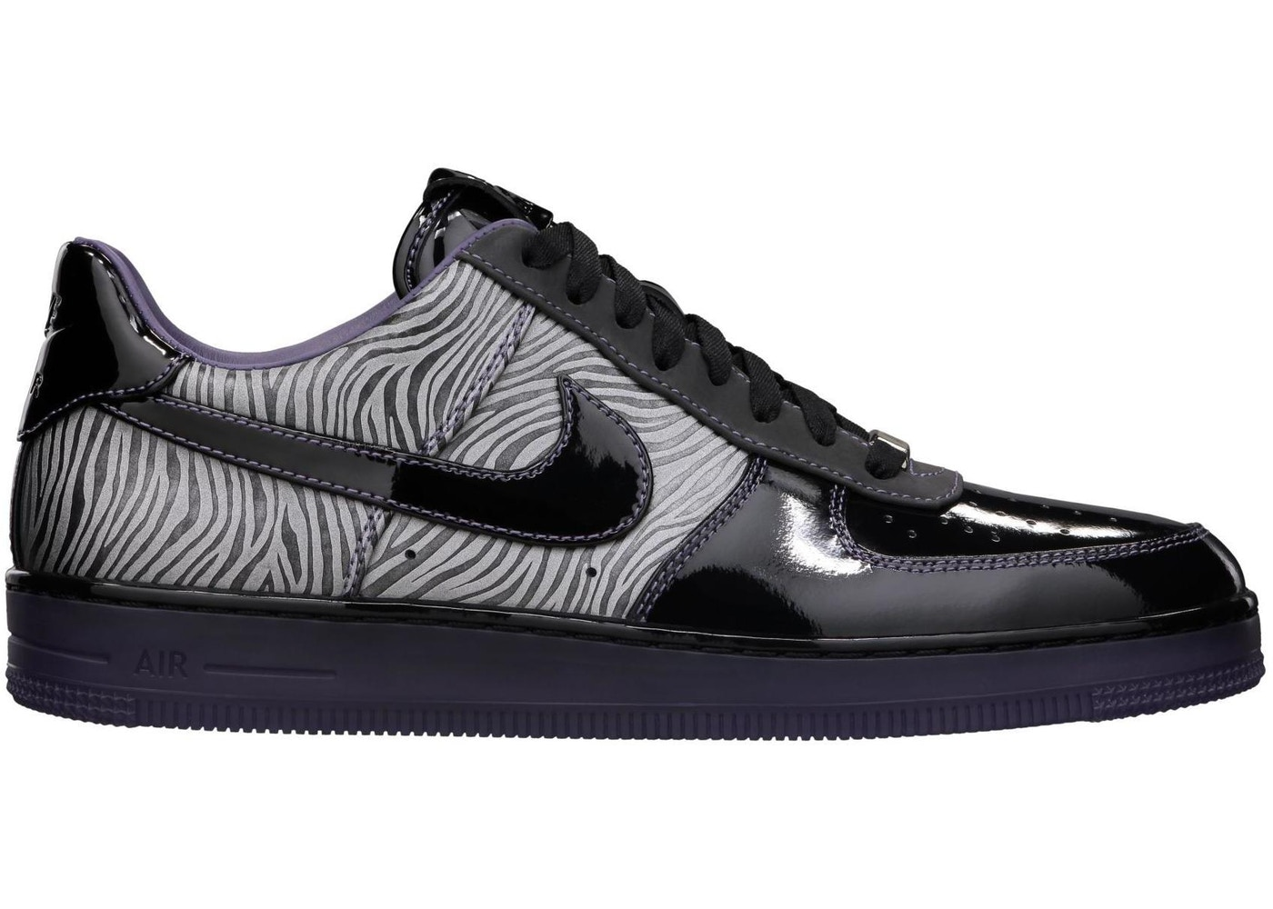 2018 shoes top brands best cheap Air Force 1 Low Downtown Zebra - 573979-003