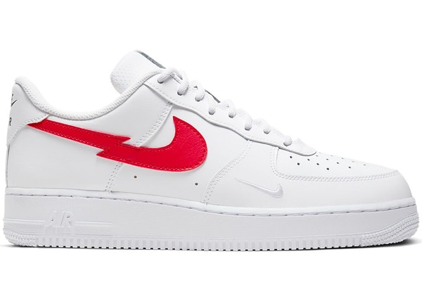 nike air force 1 donna swoosh rossa