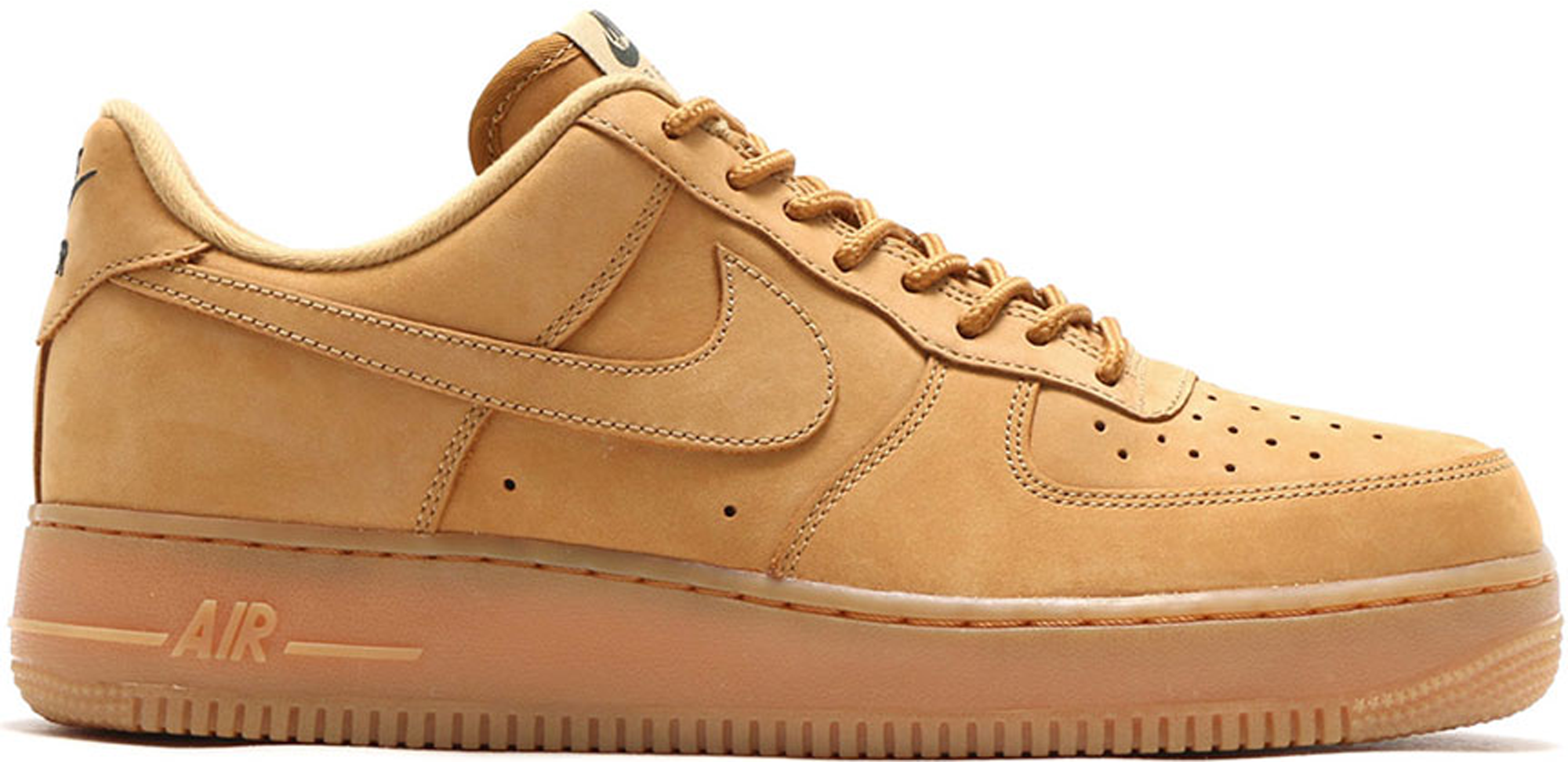 Nike Air Force 1 Faible - Chaussures Marron / Beige