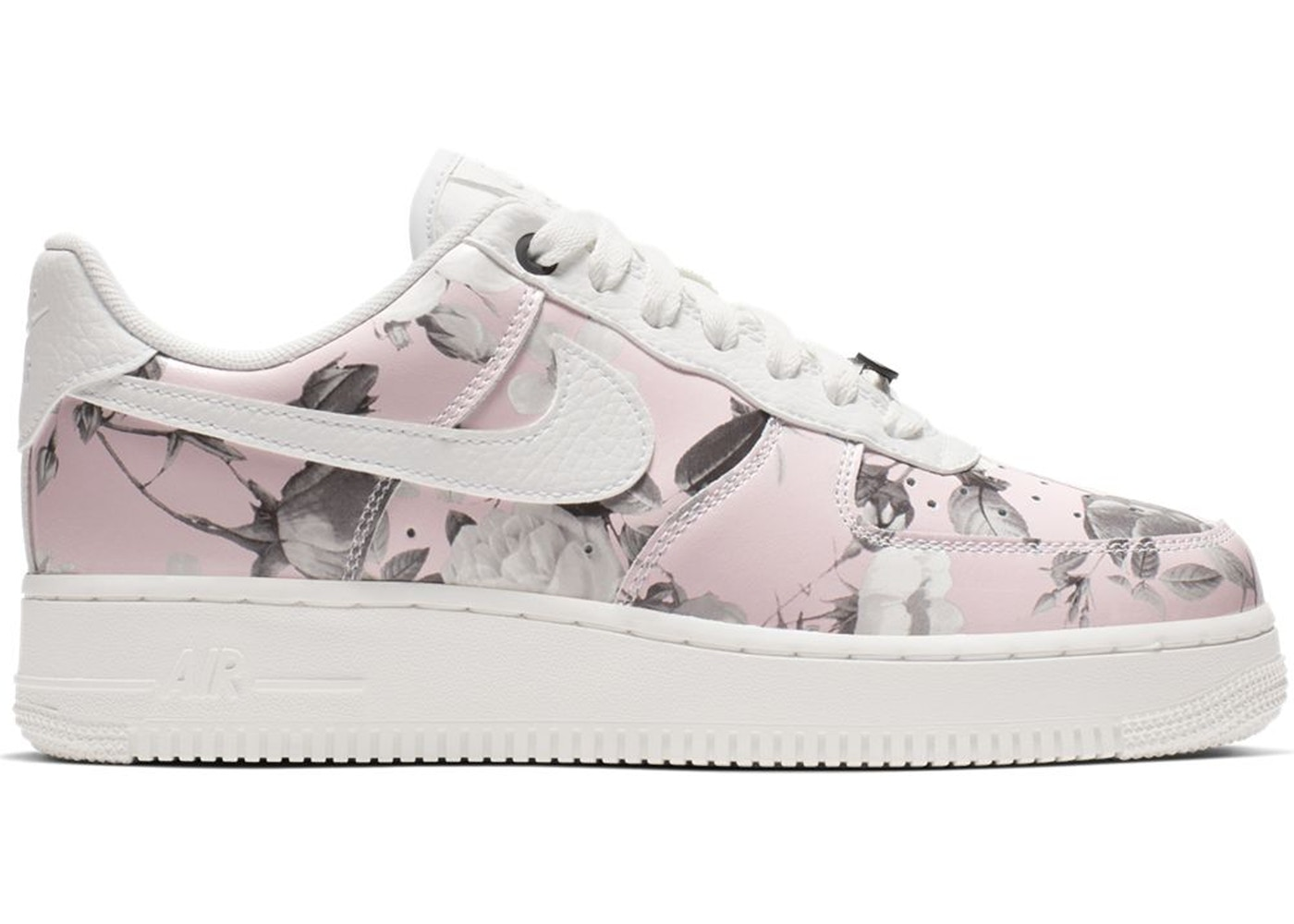 2019 Nike Women's Air Force 1 Low Floral Rose White To Buy