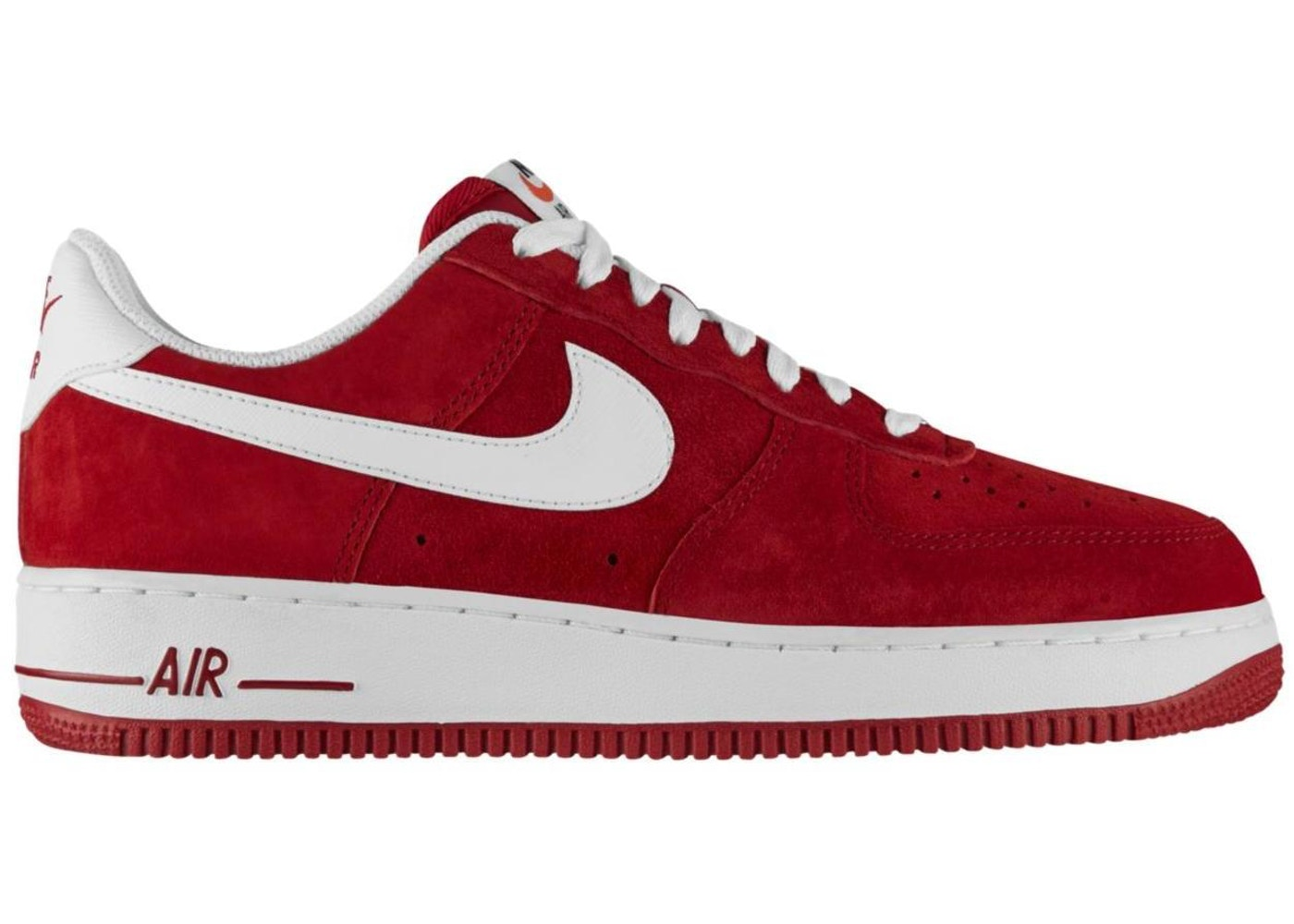 best service 41c81 a1d40 Air Force 1 Low Gym Red White - 488298-620