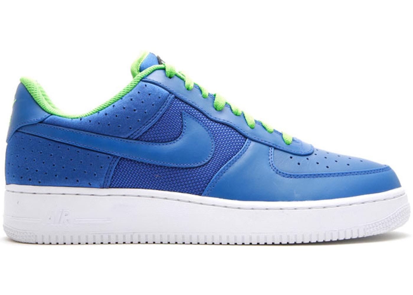 air force 1 blu elettrico
