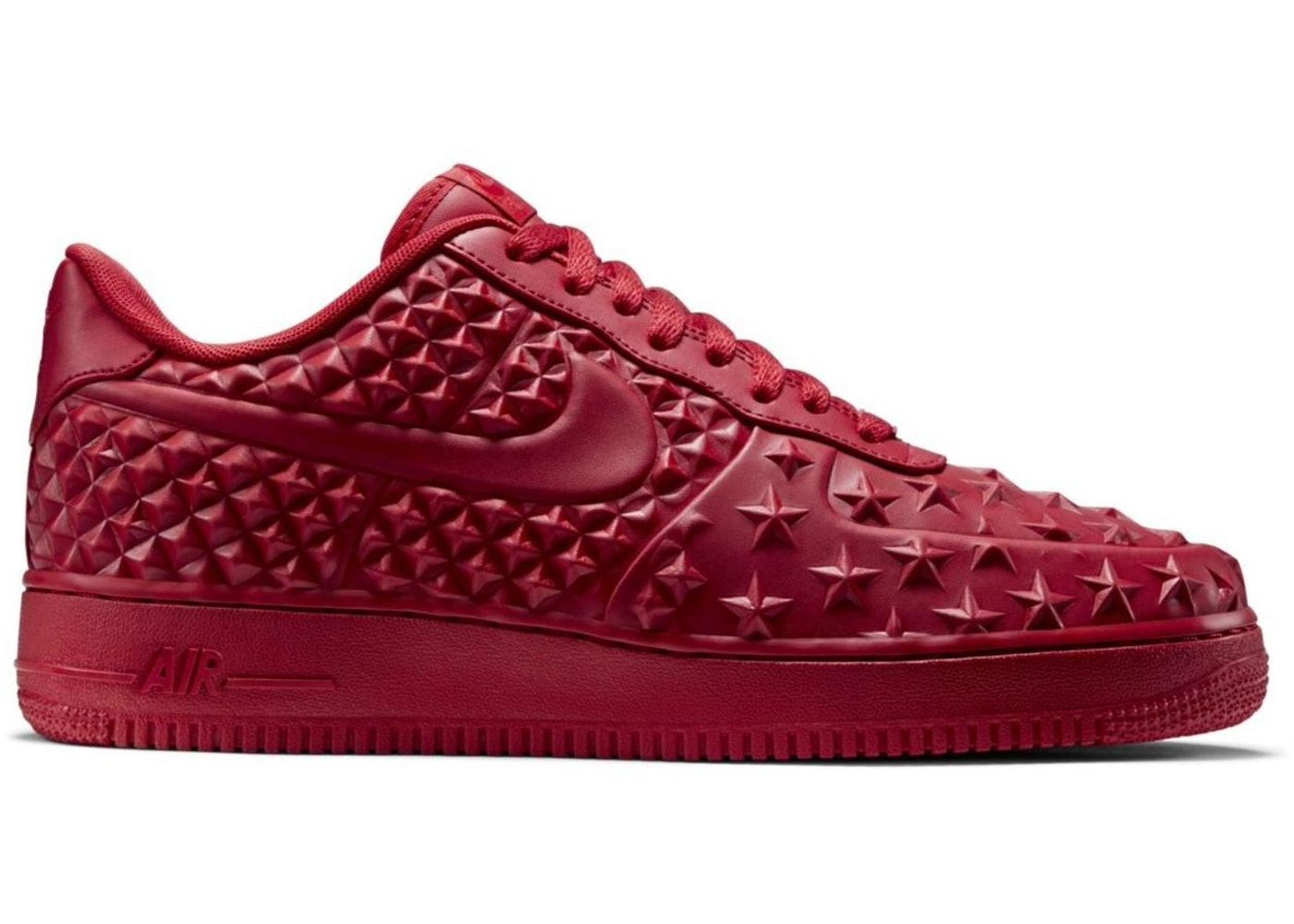 construcción esquina Trampas  Nike Air Force 1 Low Independence Day Red - 789104-600