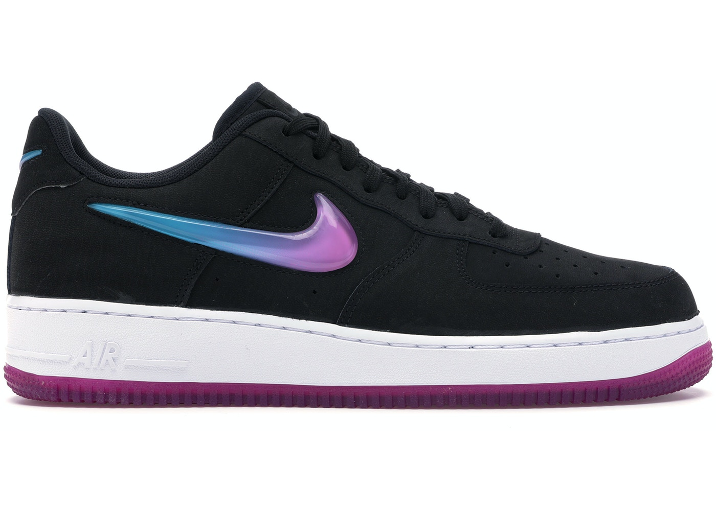 Nike Air Force 1 Low Jelly Jewel Black At4143 001