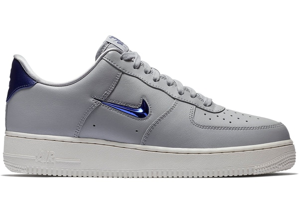 0651dc76c22 Air Force 1 Low Jewel Wolf Grey Royal Blue