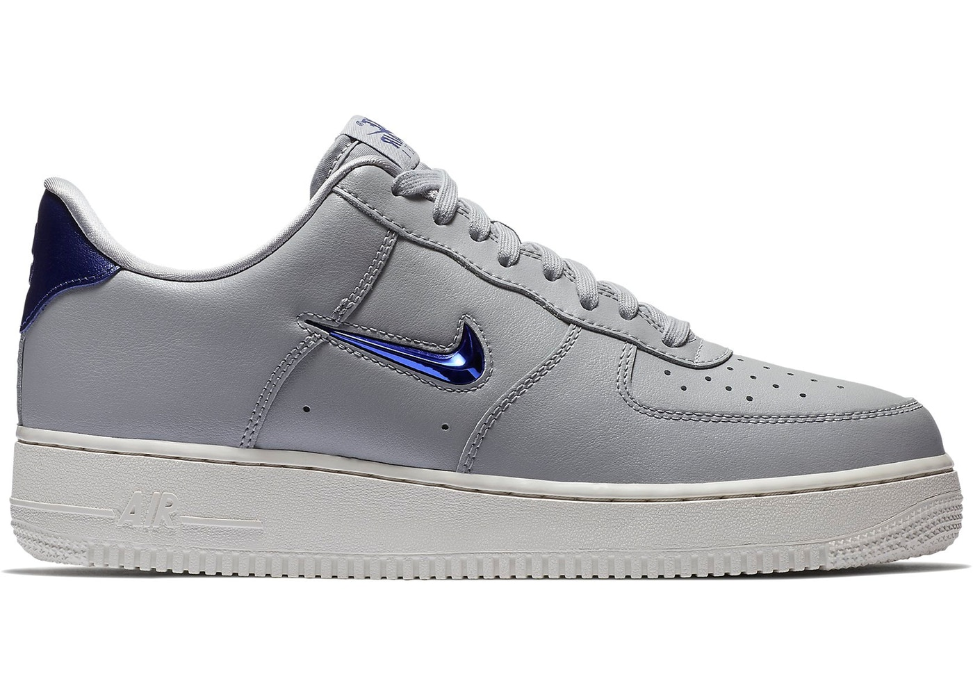 Air Force 1 Low Jewel Wolf Grey Royal Blue