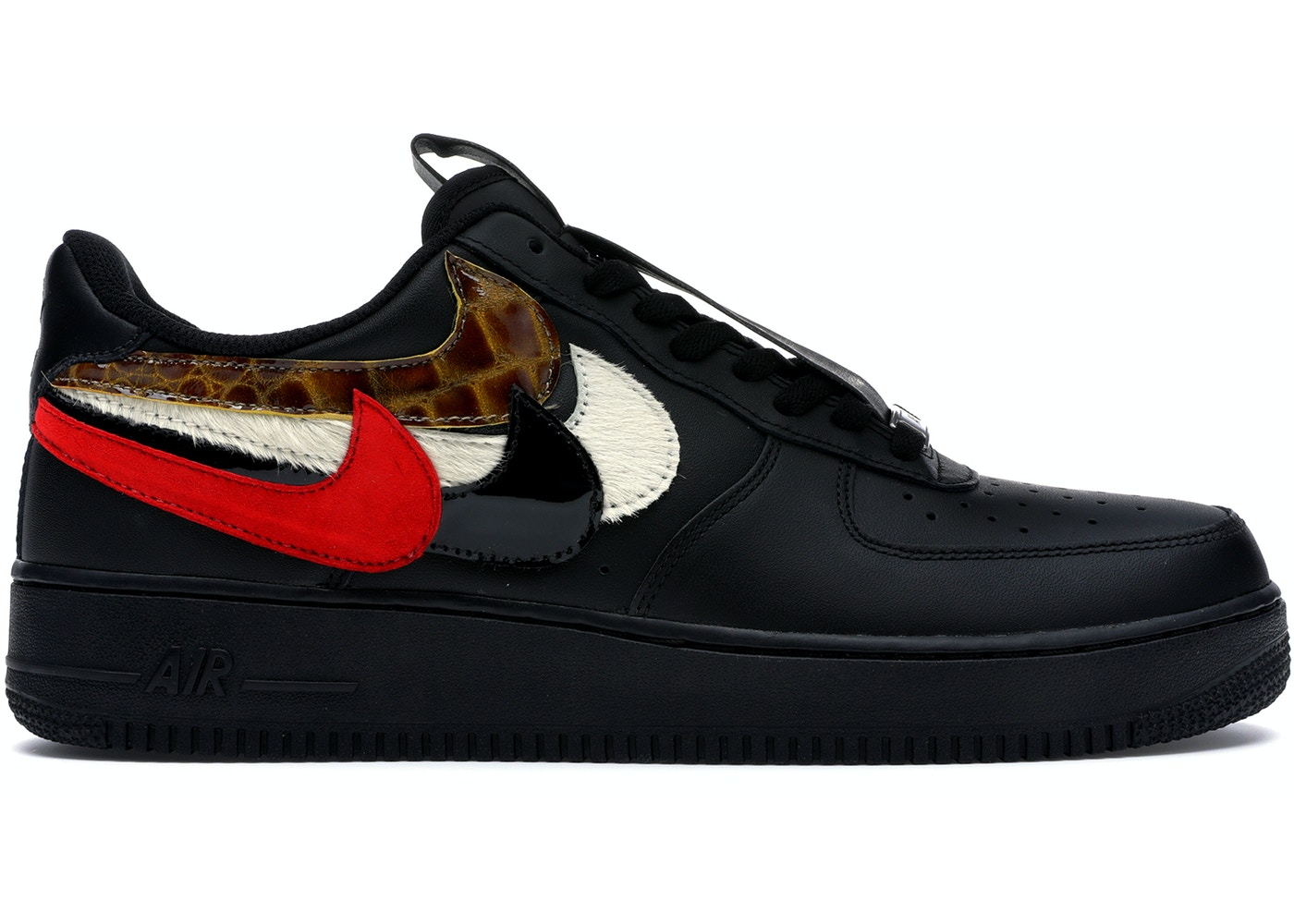 on sale d2dd4 22928 Air Force 1 Low John Geiger Misplaced Checks Black - undefined