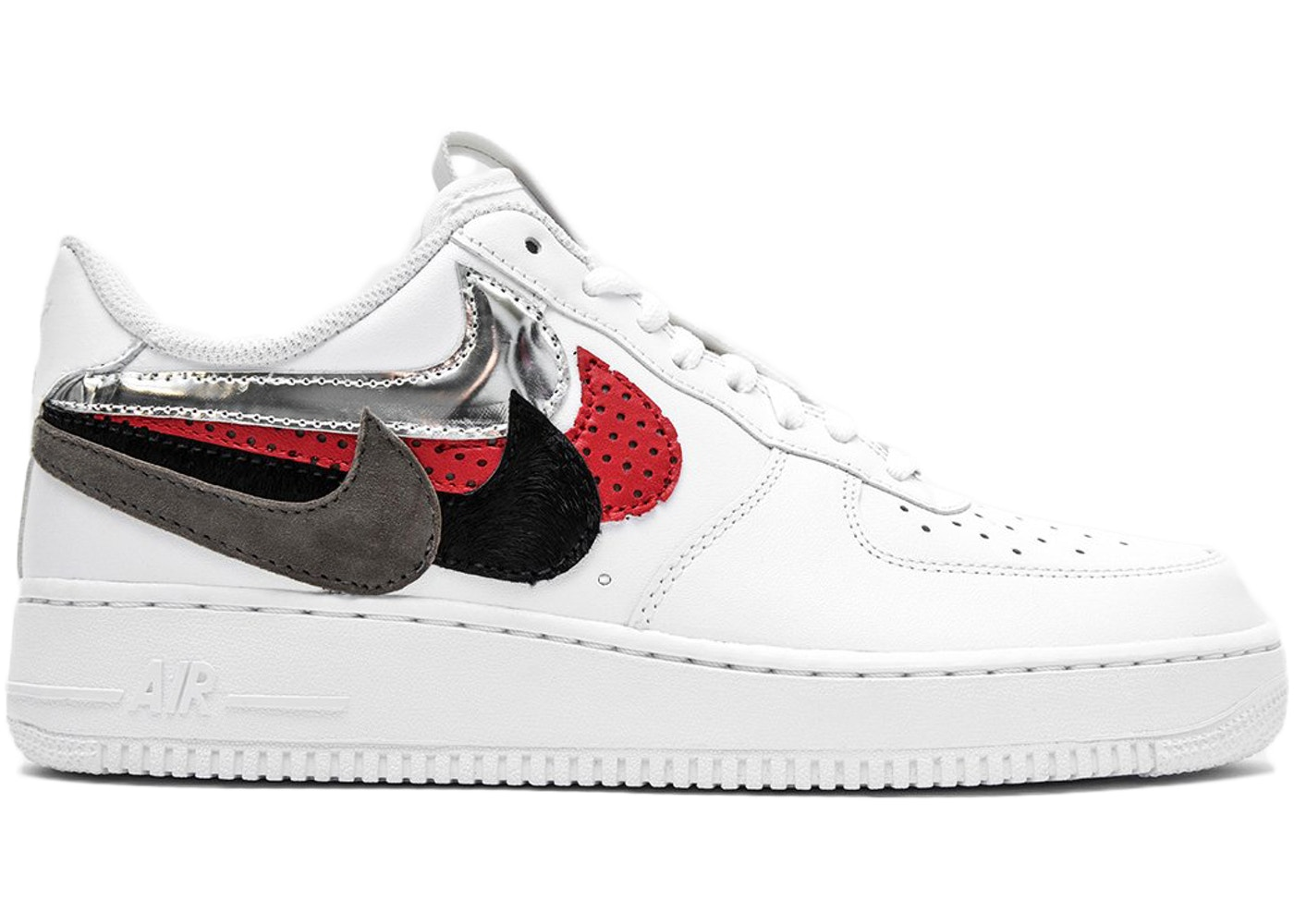san francisco 425e8 01fb5 Air Force 1 Low John Geiger Misplaced Checks White - undefined