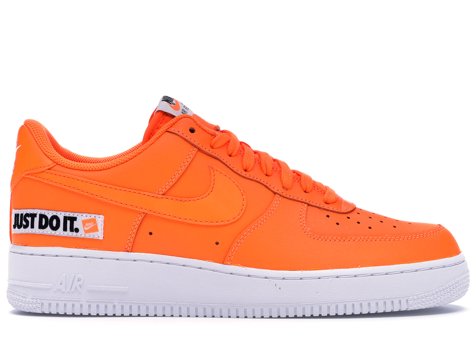 nike air force 1 orange et blanc