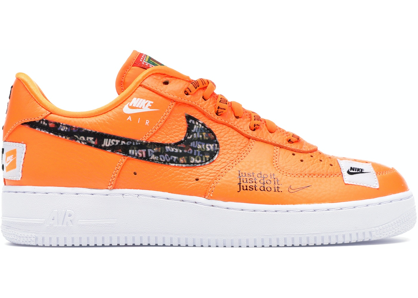 huge sale new photos new design Air Force 1 Low Just Do It Pack Total Orange