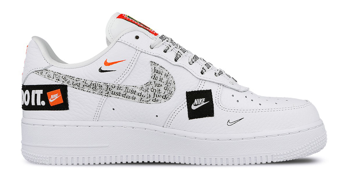 Air Force 1 High Just Do It Pack White/Black