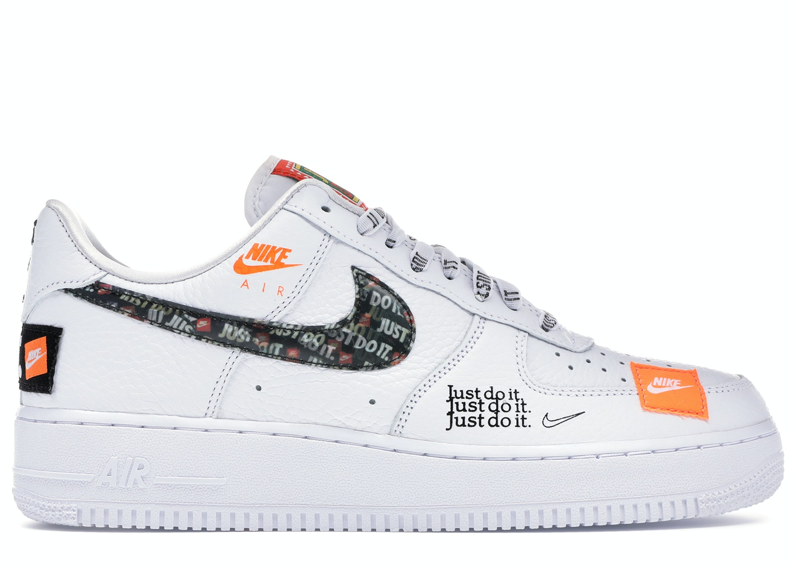 Air Force 1 Low Just Do It Pack White/Black