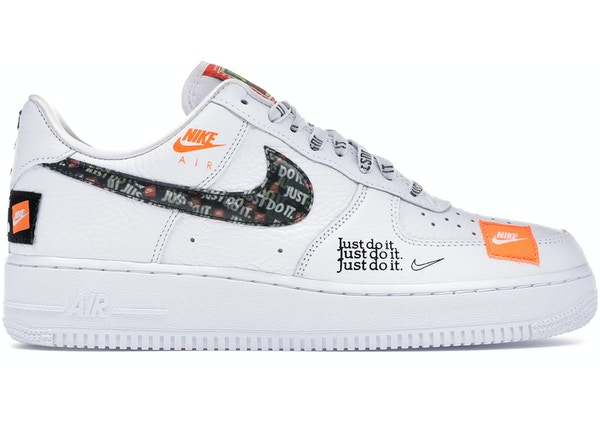 finest selection 1ec04 25cf6 Air Force 1 Low Just Do It Pack White Black