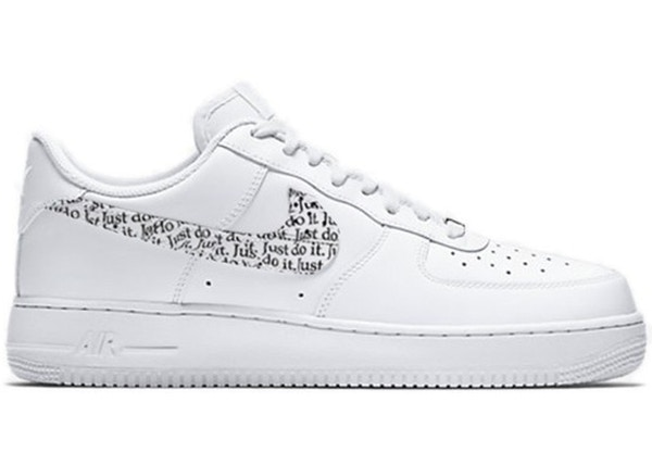 competitive price eeb80 5b22a Air Force 1 Low Just Do It Pack White - BQ5361-100