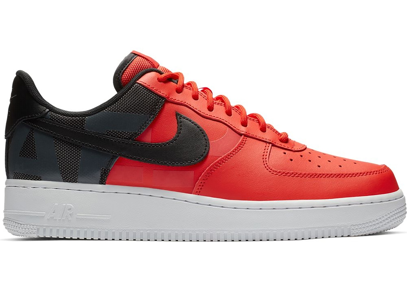 Air Force 1 Low LV 8 Habanero Red Black White