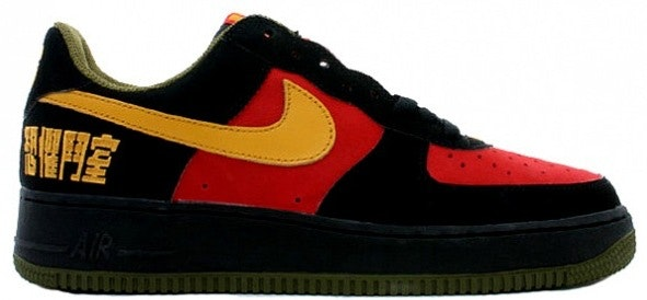 Air Force 1 Low LeBron James Warrior