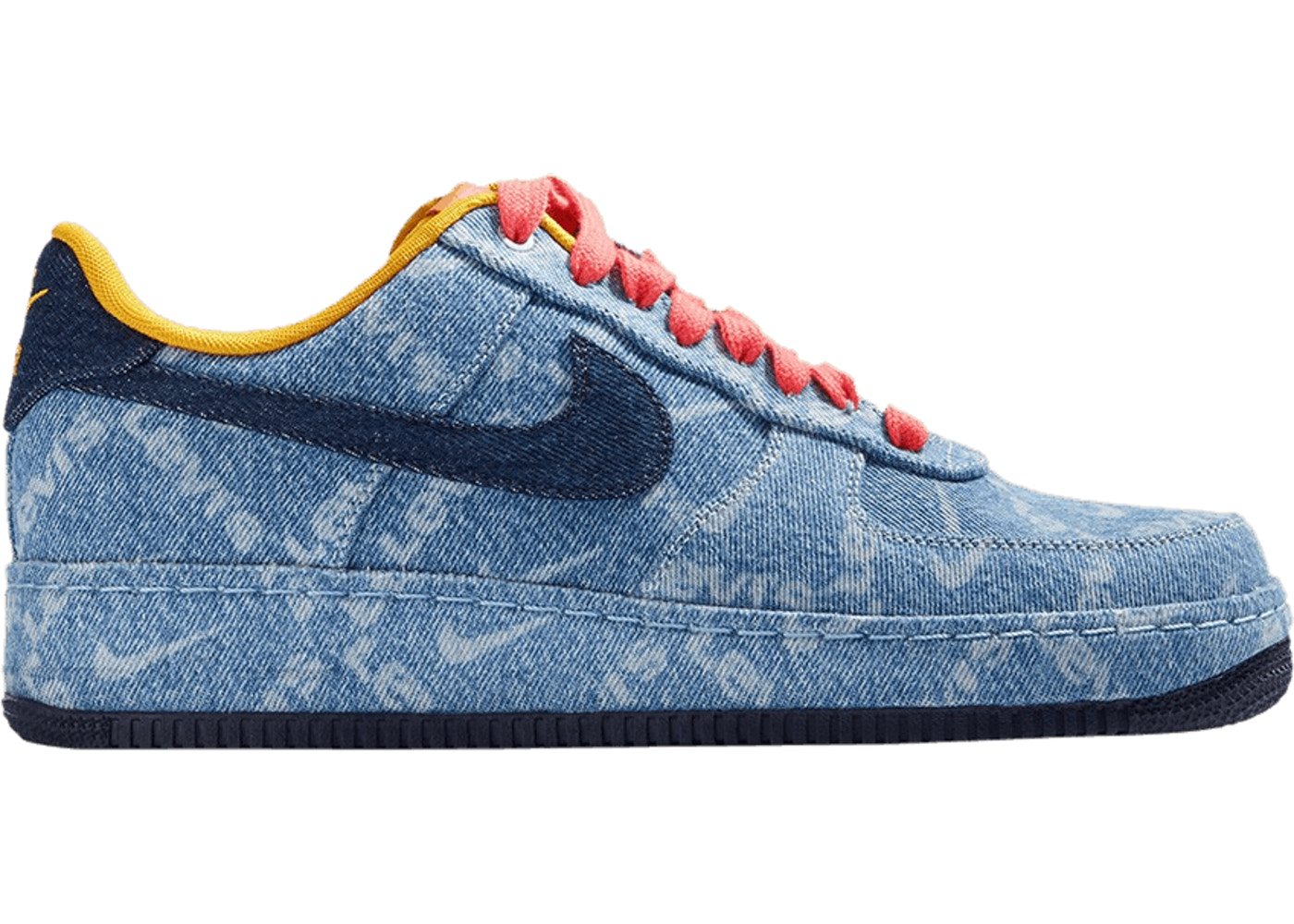 Nike X Levis By You Air Force 1 High Us 14