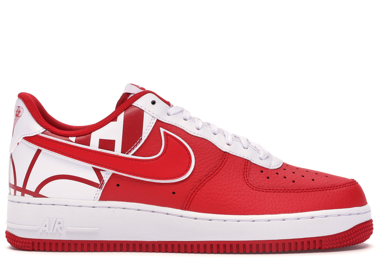 air force 1 red logo