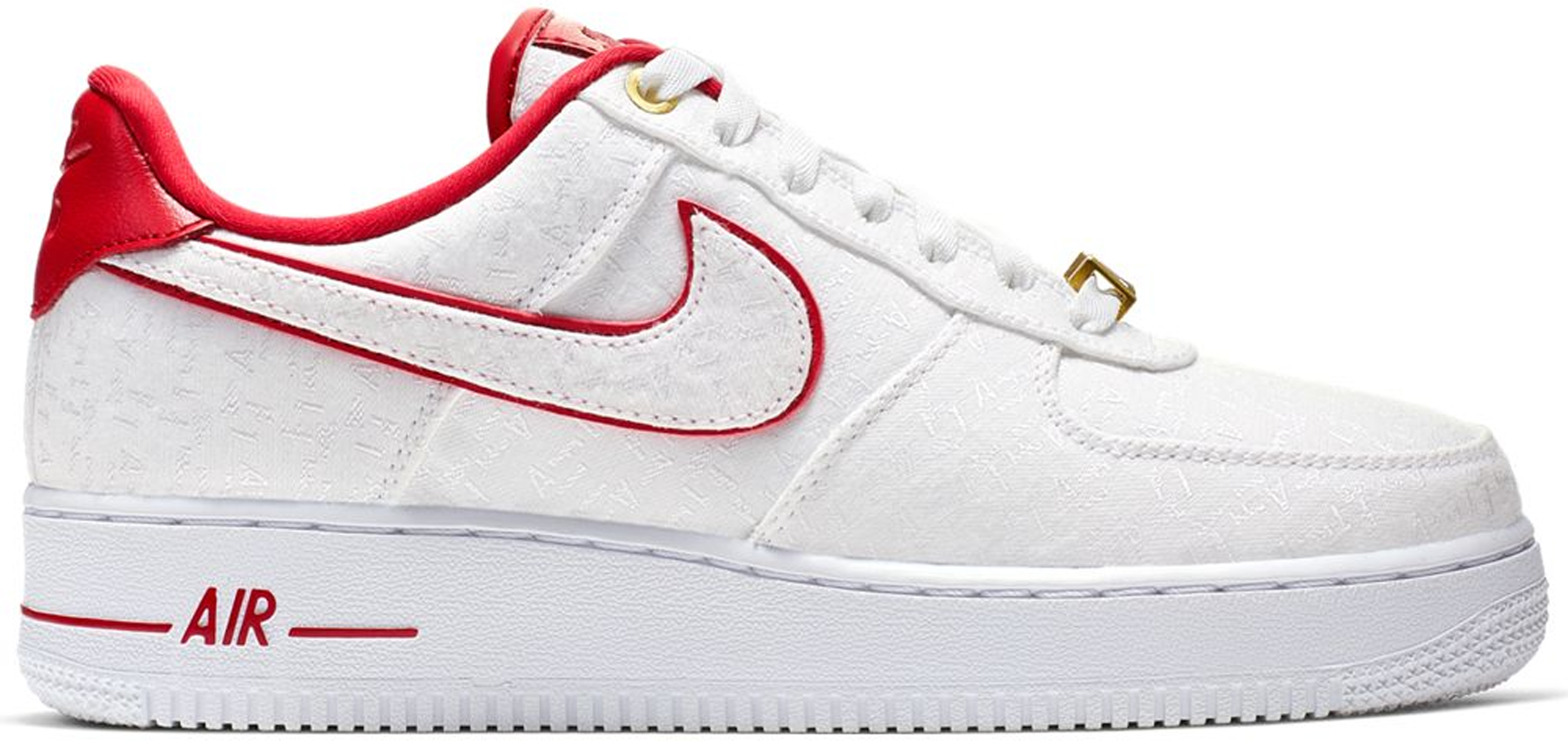 Nike Air Force 1 Low Lux White Red (W