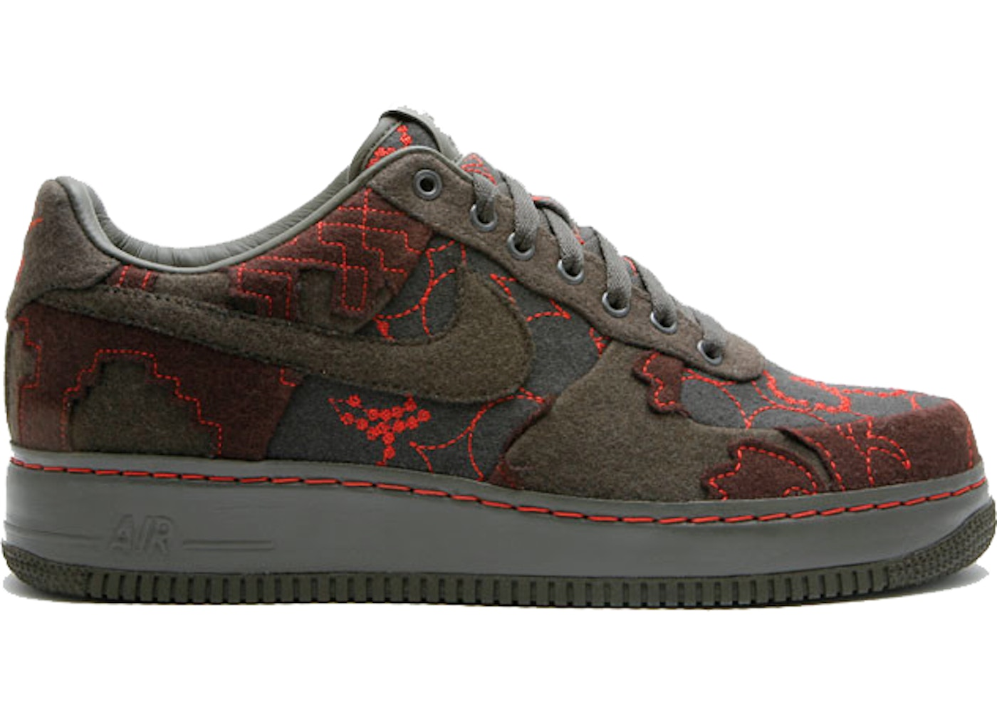 new product 958d9 dae0f Air Force 1 Low Maharam Moss - 363171-031