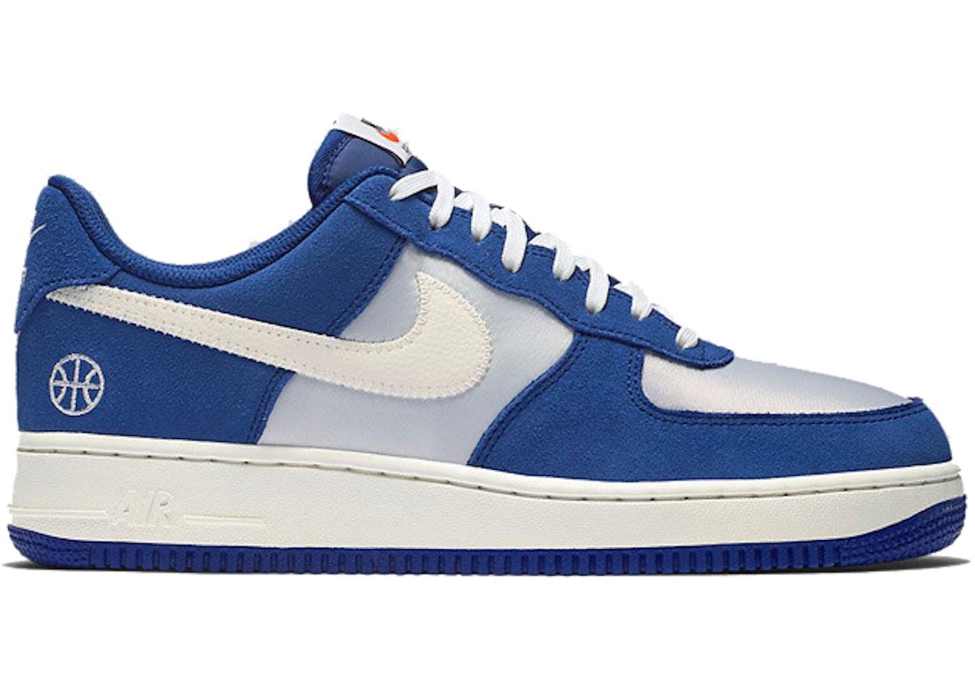 basket bleu nike air force 1