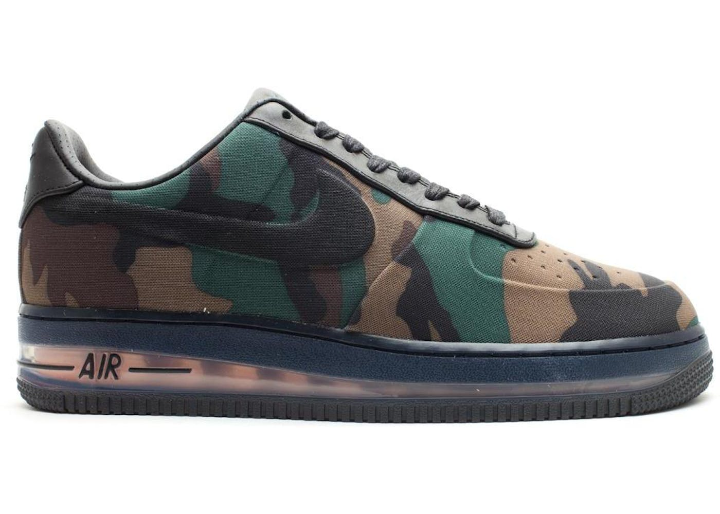 promo code 9b787 940db ... QS Camouflage at Millenium Shoes Air Force 1 Low Max Air VT Camo ...