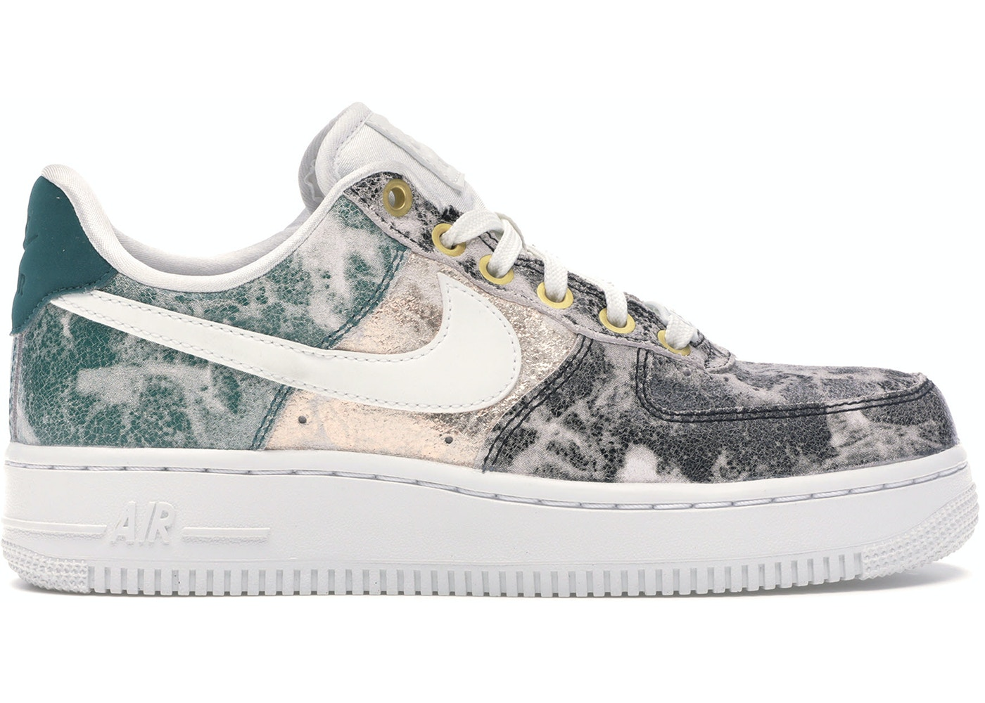 2a8f2dd5 Air Force 1 Low Metallic Leather (W) - AO1017-100