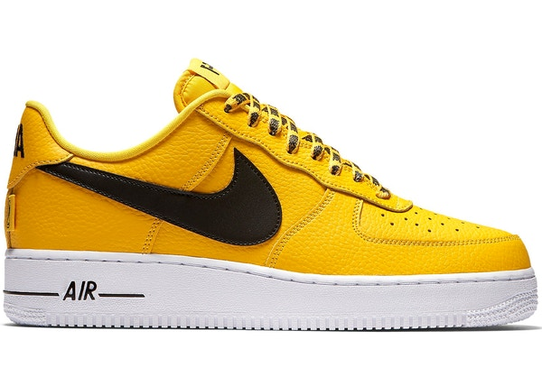 nike air force 1 nba jaune