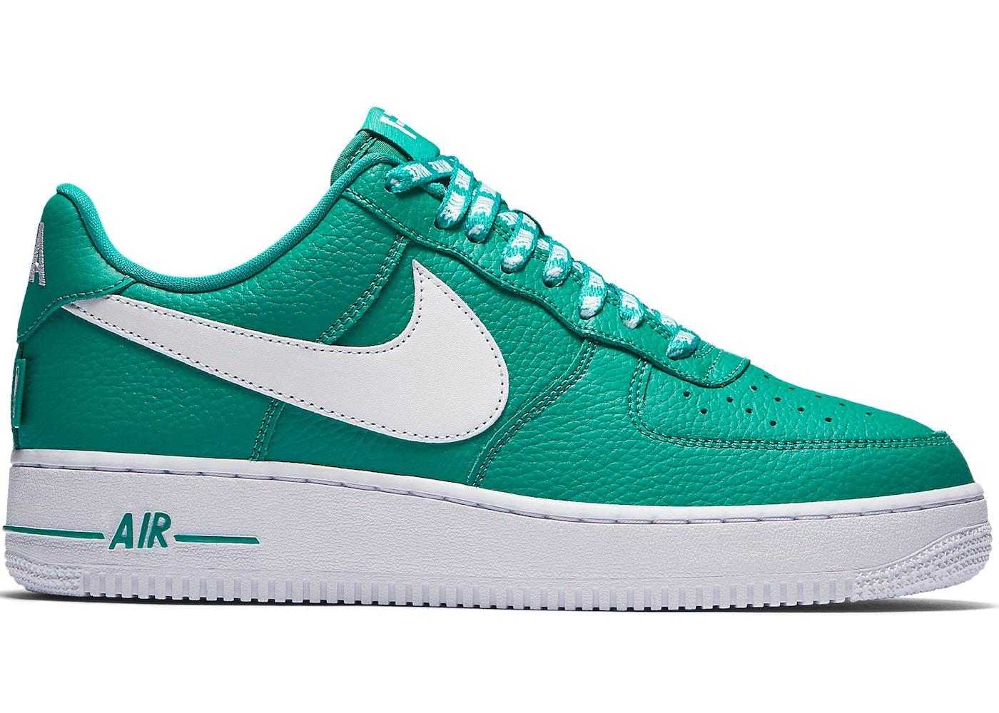 Abrumar productos quimicos para castigar  Nike Air Force 1 Low NBA Neptune Green - 823511-302