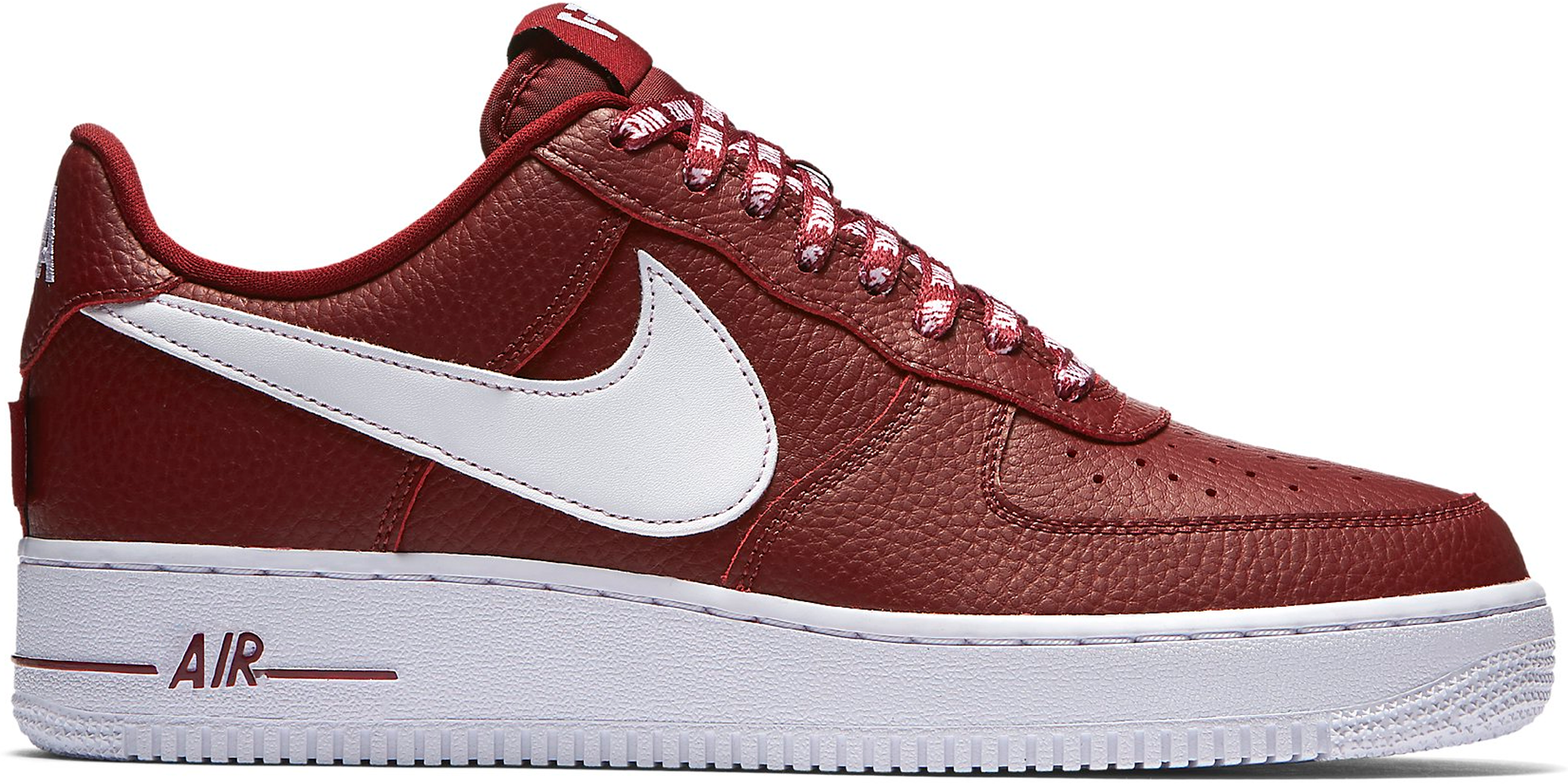 nike air force 1 low team red