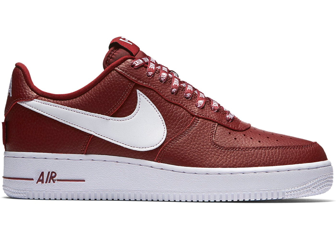 air force 1 nba rosse