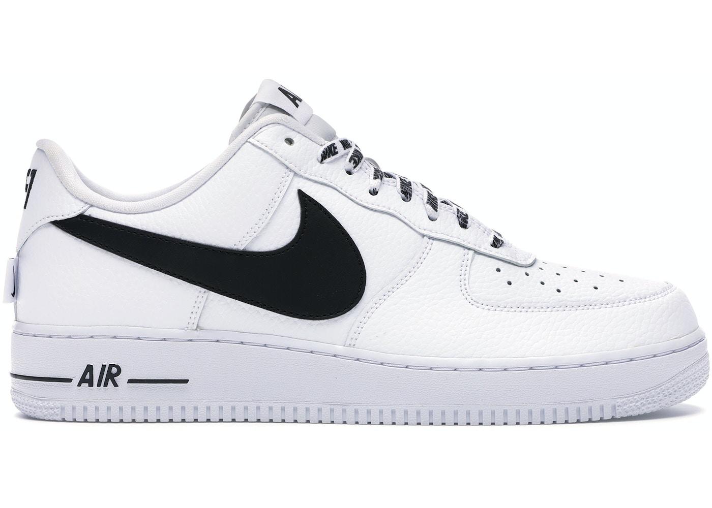 Nike Air Force 1 Low Nba White Black 823511 103