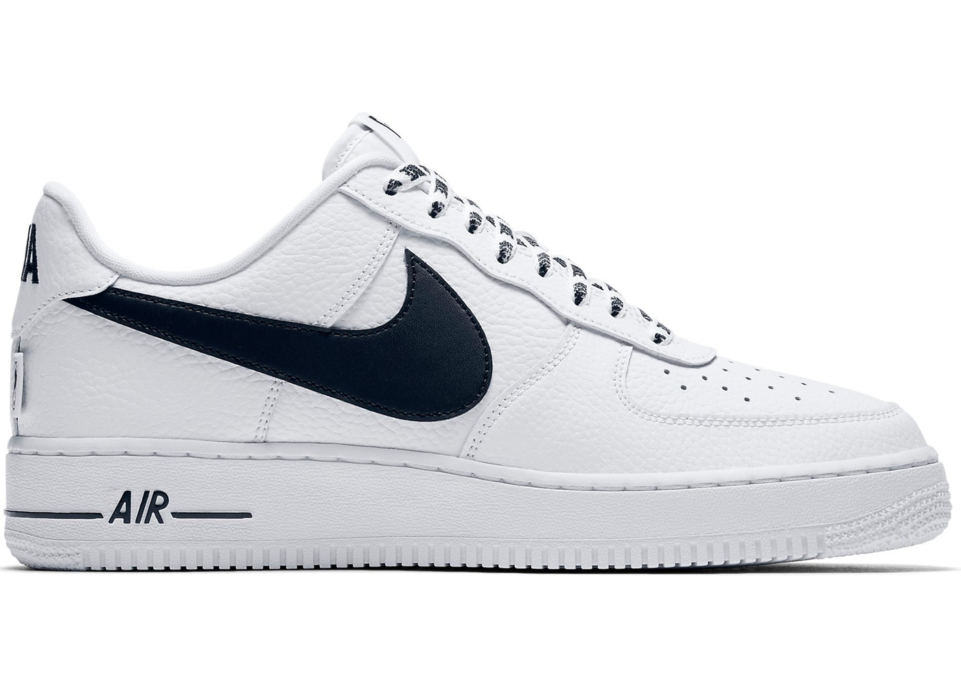 f41b407455e0c Air Force 1 Low NBA White Black - 823511-103