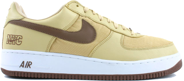 Air Force 1 Low NYC Corduroy Gold Dust
