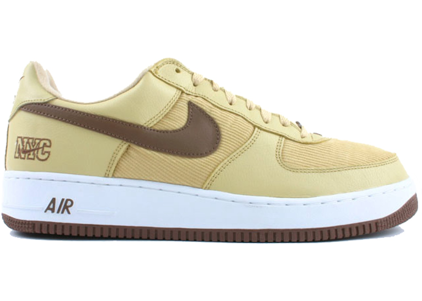 meet 5b9a7 6b88d Air Force 1 Low NYC Corduroy Gold Dust - 306509-721
