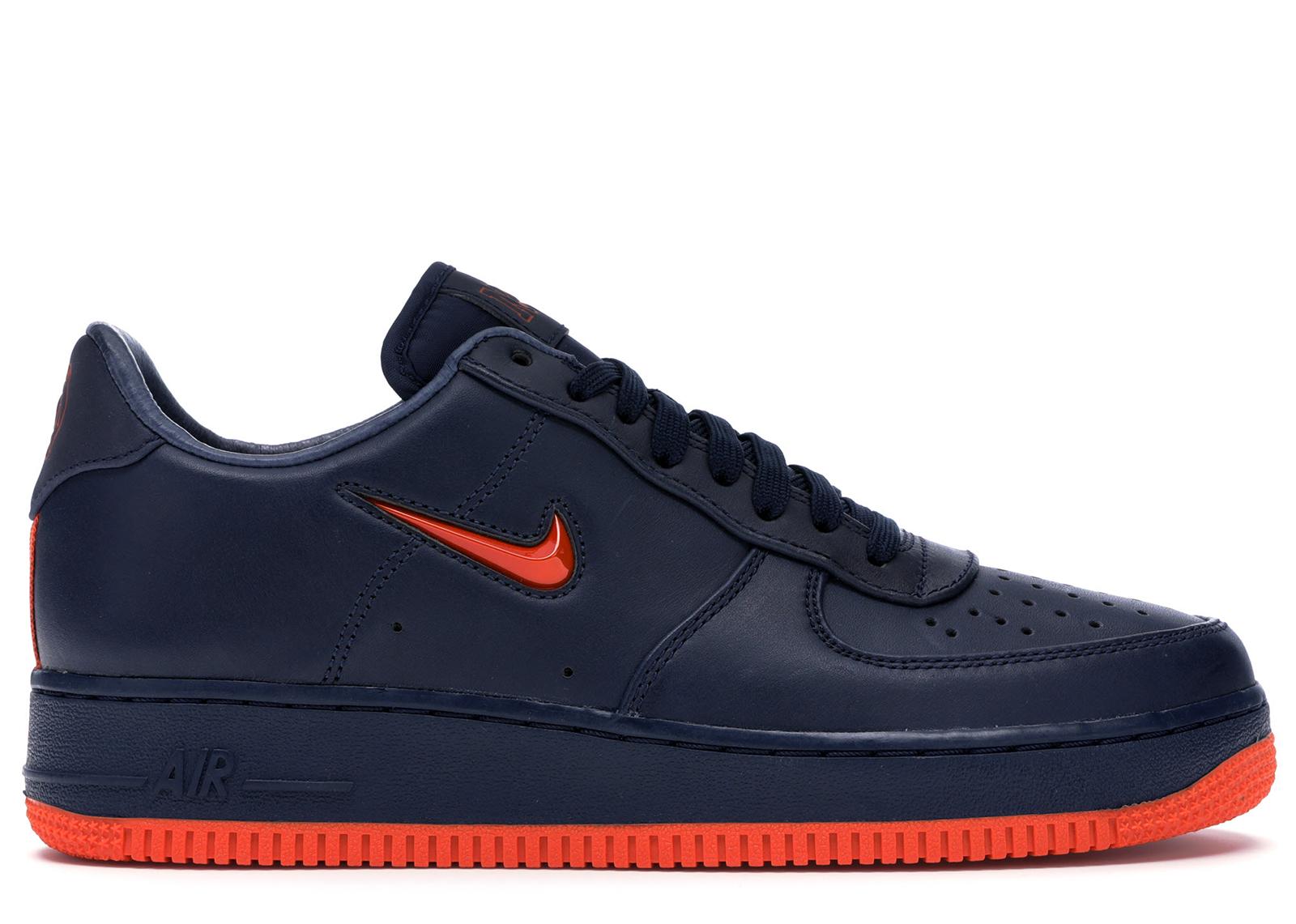 air force 1 orange et noir