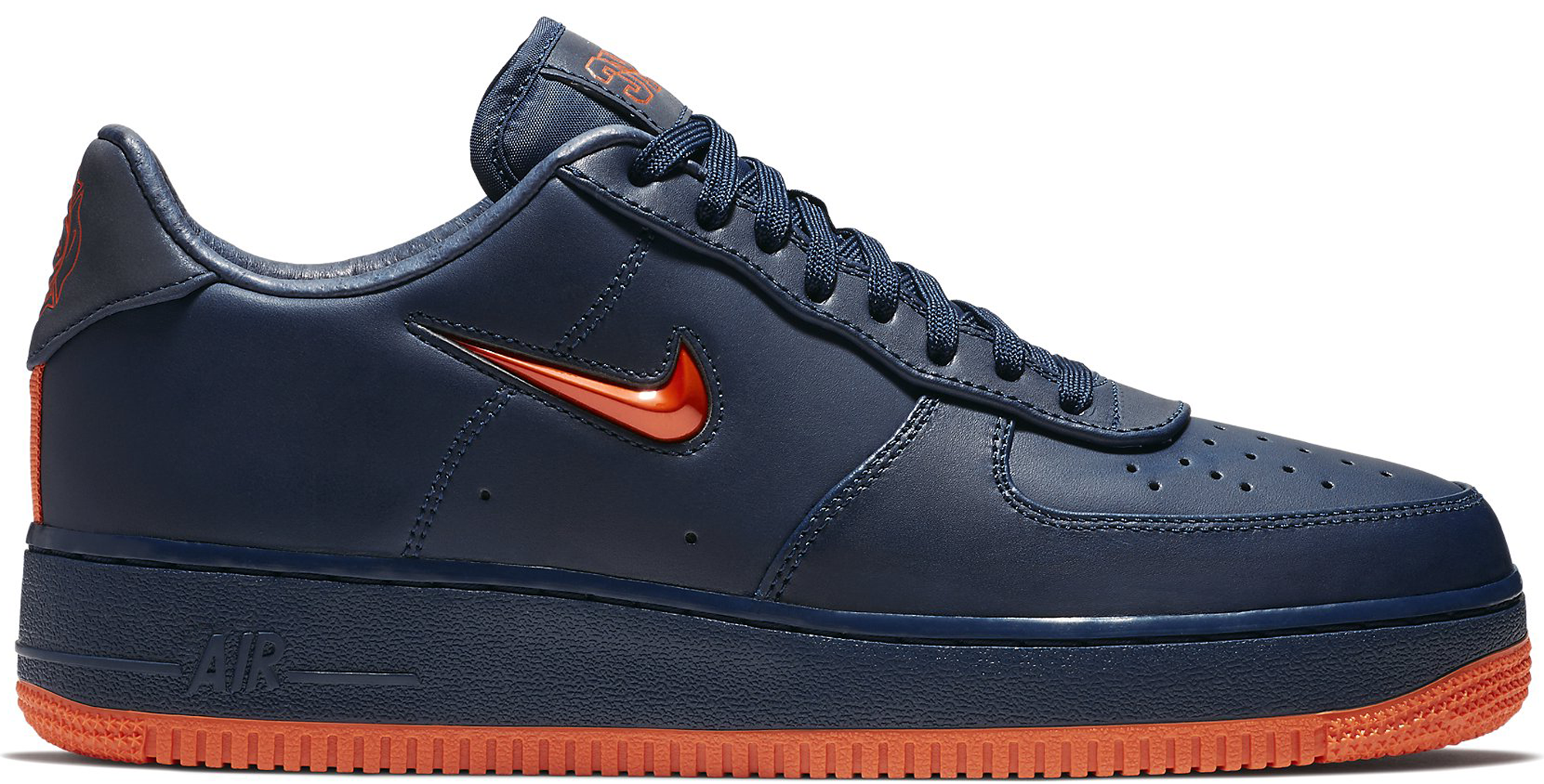 Air Force 1 Low NYC Obsidian Orange