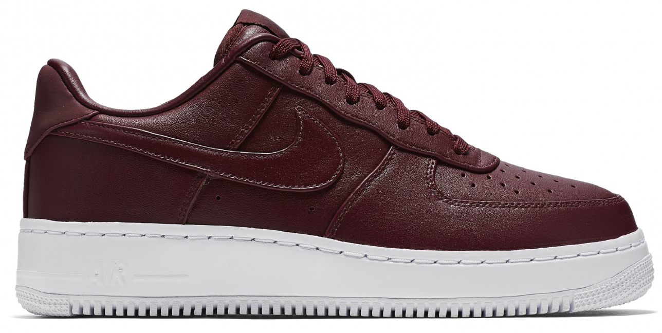 nike air force night maroon