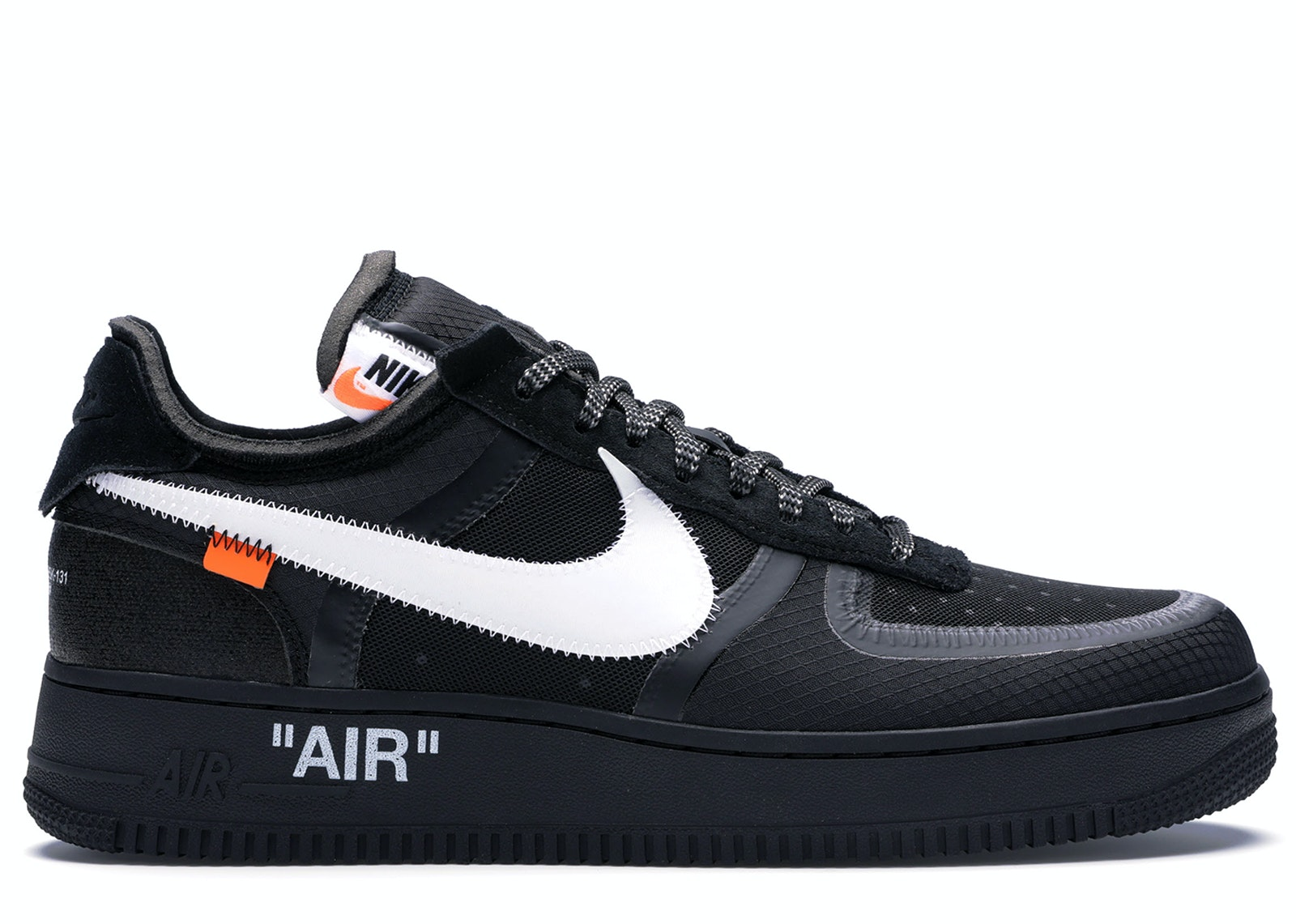 air force 1 low off white black white ao4606 001Nike #10