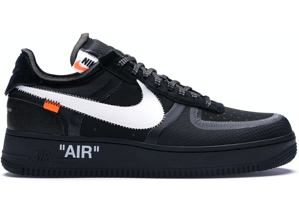sports shoes 3423a 6ee30 Air Force 1 Low Off-White Black White - AO4606-001