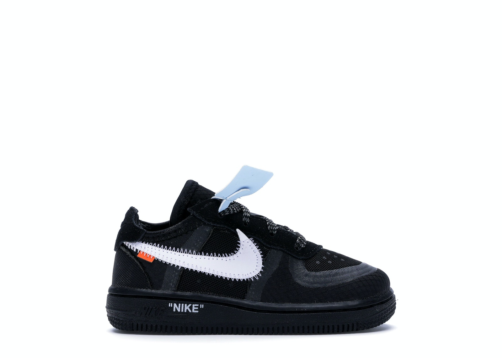 Air Force 1 Low Off-White Black White (TD)