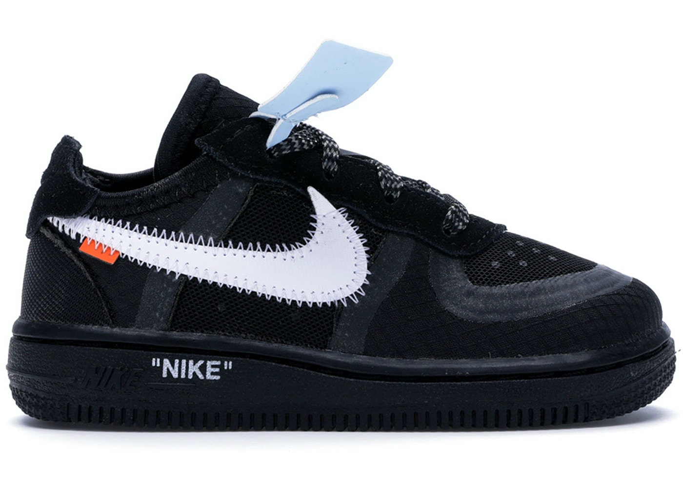 check out 69712 46914 Air Force 1 Low Off-White Black White (TD) - BV0853-001