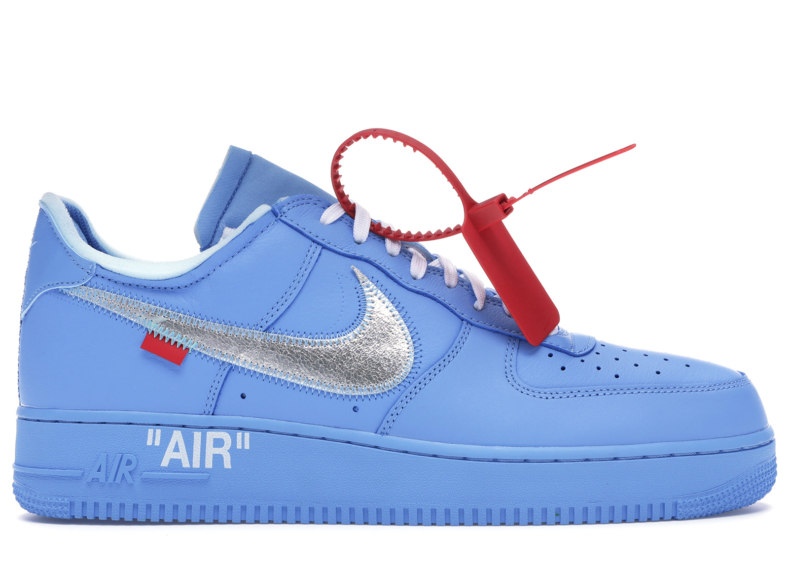 air force 1 mid uomo blu